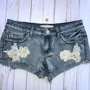 Jean distressed shorts Size 5